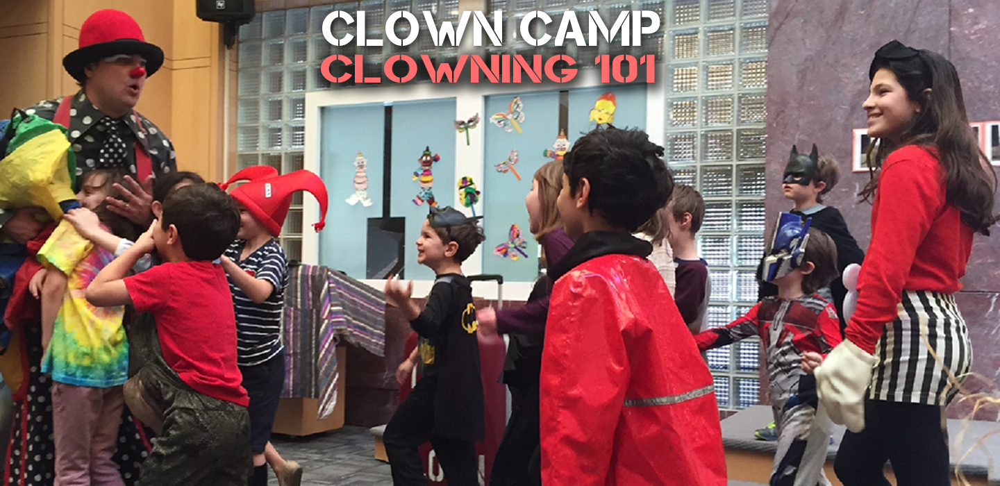 Learn the tricks of the trade with GillyCLOWN CAMP